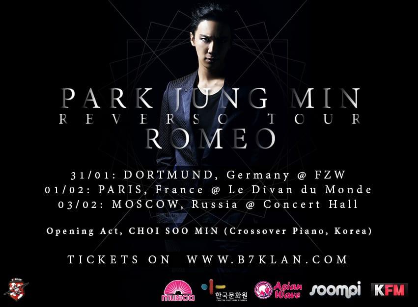 Park Jung Min European Tour
