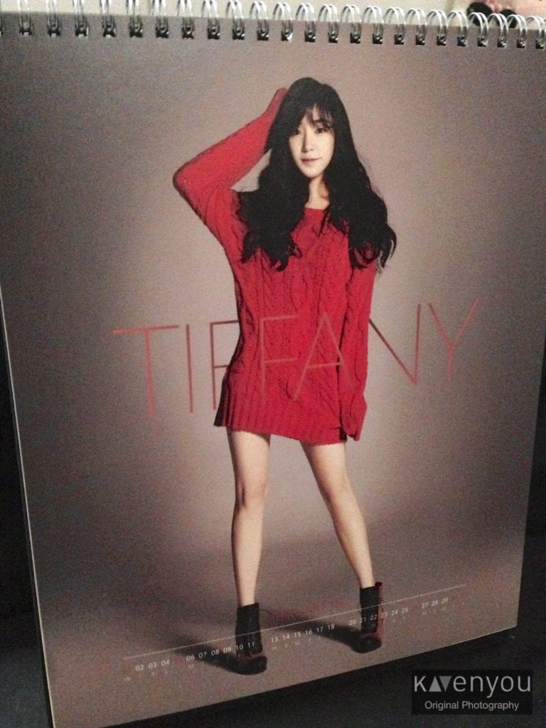 SNSD-Seasons-Greetings-Calendar-2014- Tiffany