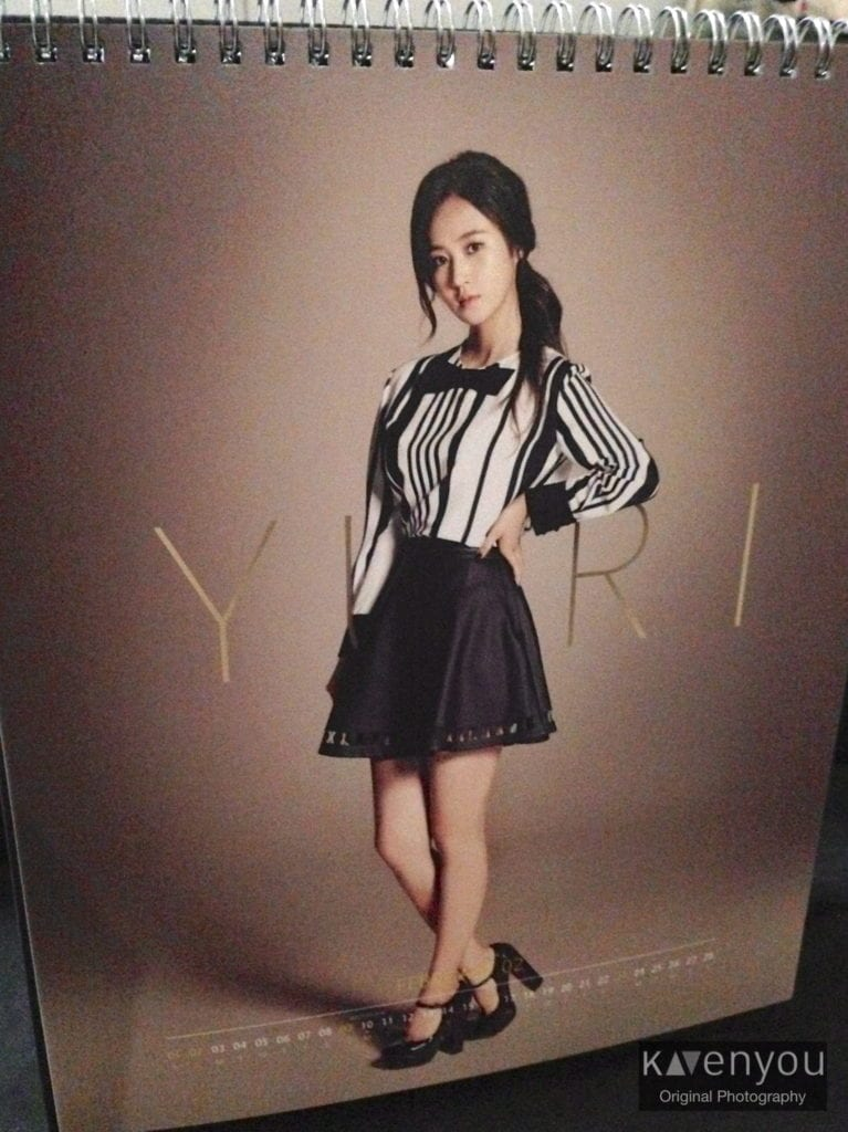 SNSD-Seasons-Greetings-Calendar-2014- Yuri