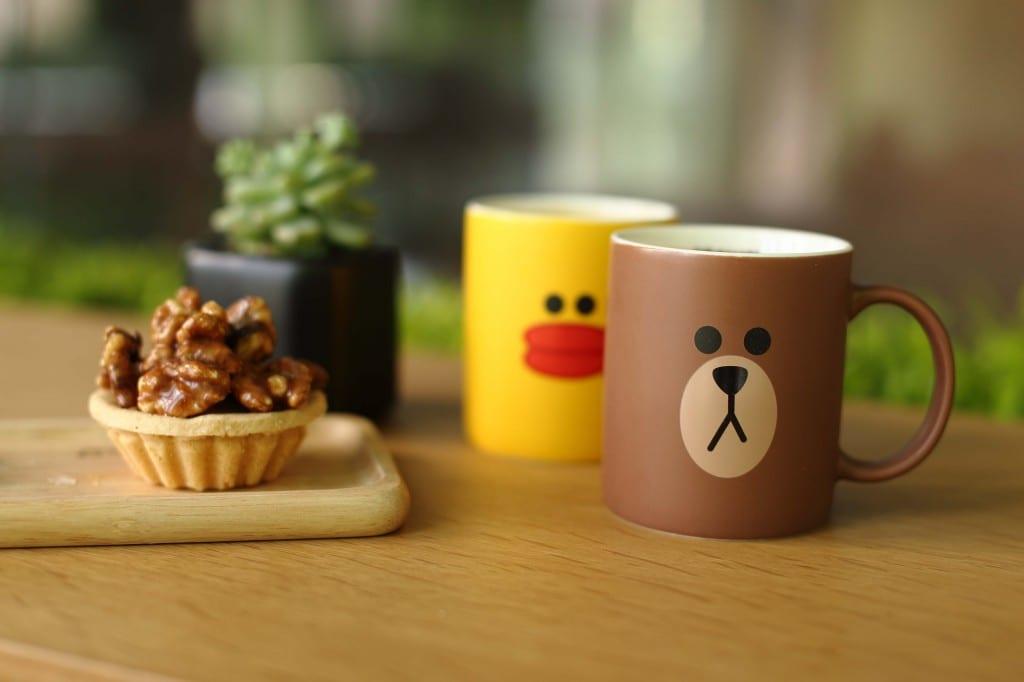 Sally and Brown Mug