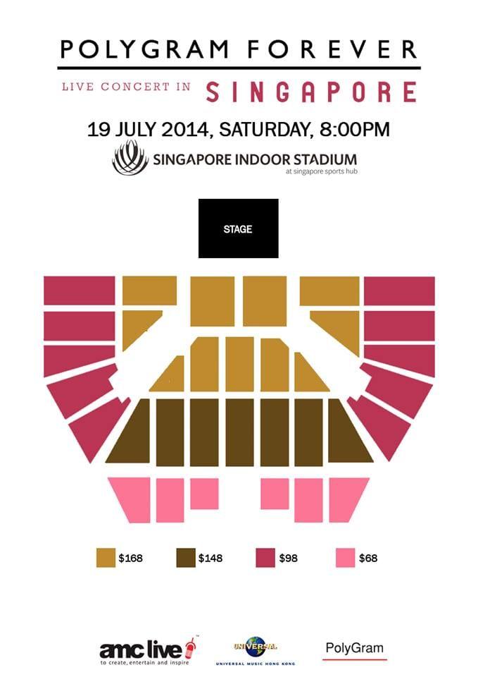 PolyGram Singapore Seating Plan
