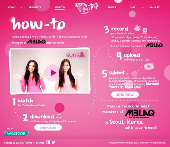 Seoul fun with Sunsilk - Win a chance to get up close & personal