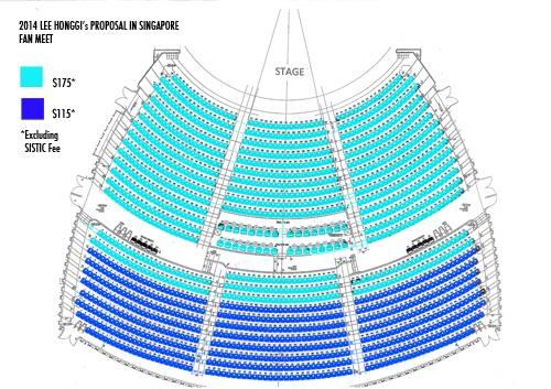 lee honggi seating plan