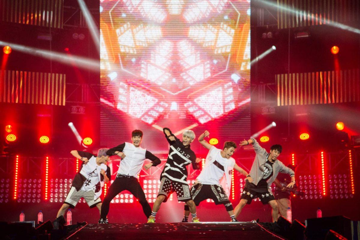 B.O.B, YUNA, BOYS REPUBLIC, THAITANIUM PRESENT A SATURDAY NIGHT FEVER AT MTV WORLD STAGE MALAYSIA 2014