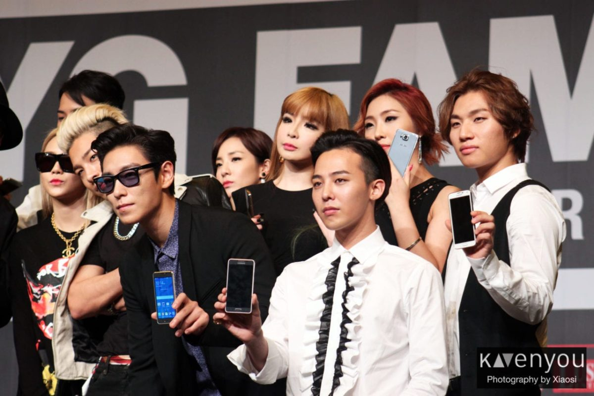 YG Family love the sun and heat in Singapore!