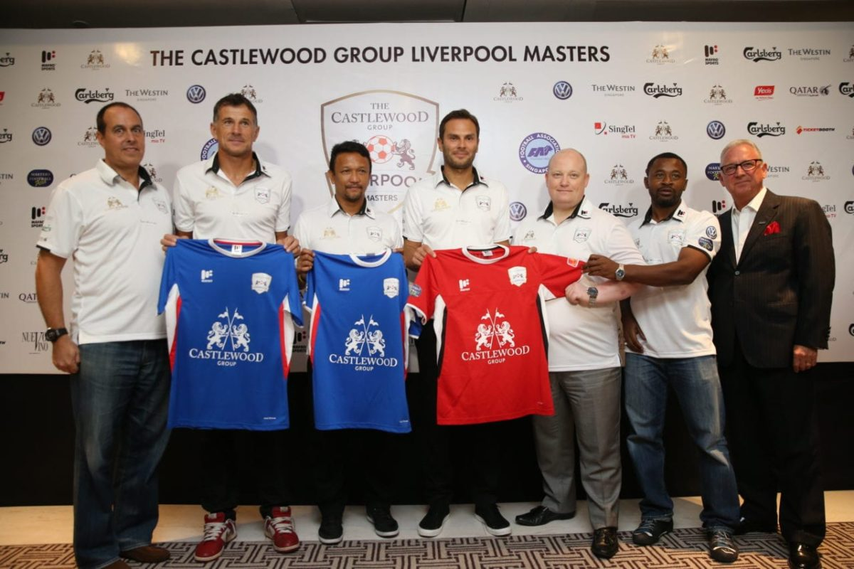Ian Rush takes on player-manager role for The Castlewood Group Liverpool Masters