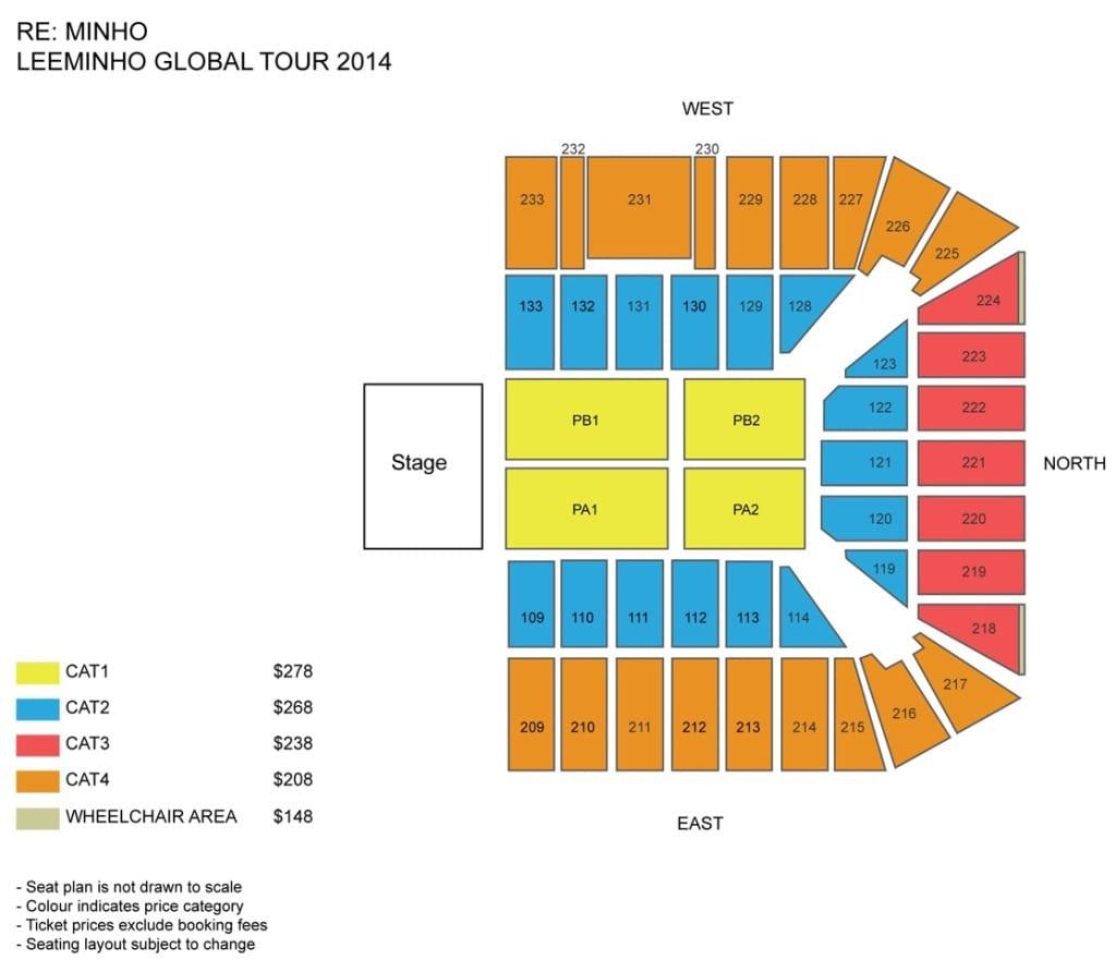 Leeminho seating plan