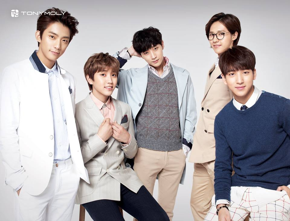 B1A4 is Tony Moly's new global endorser