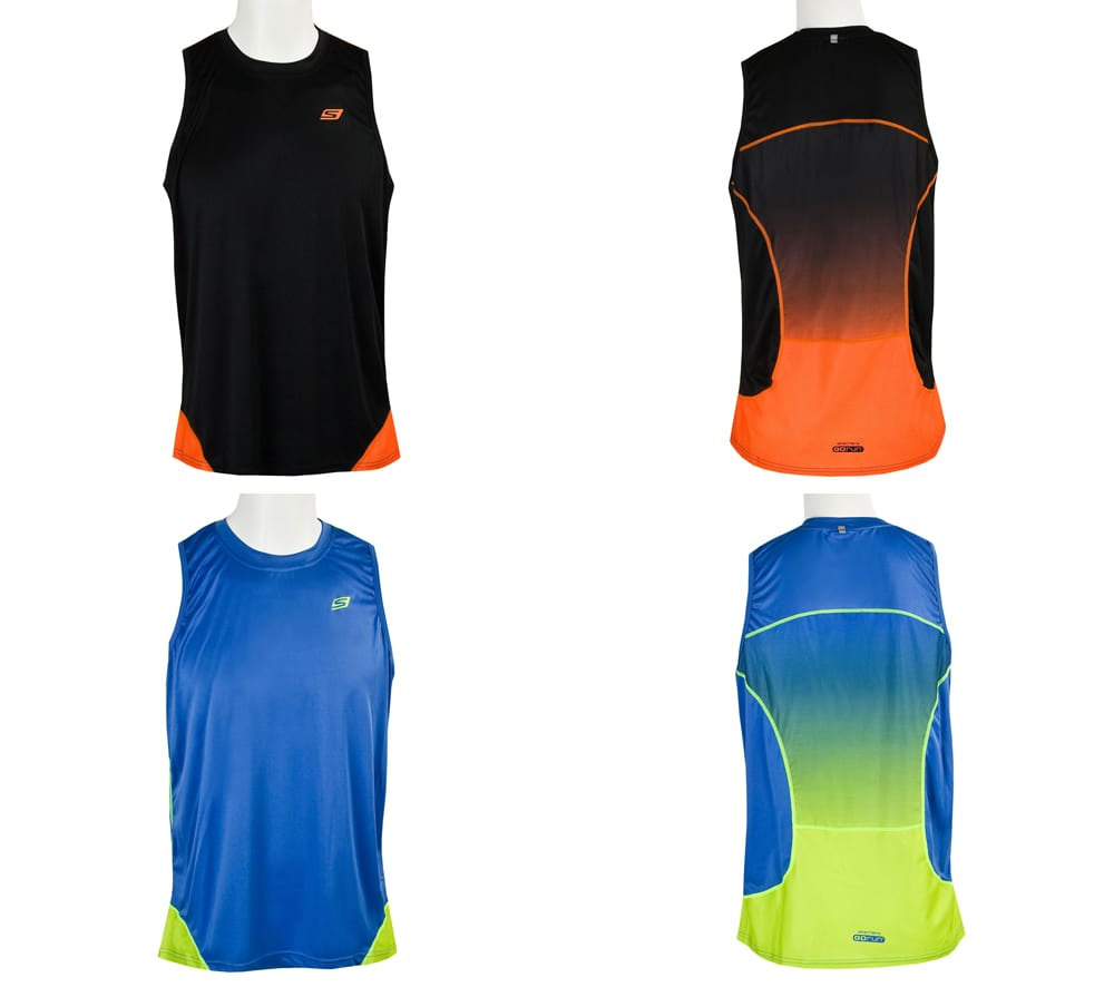 Men's Ombre Running Tank Top Clothing