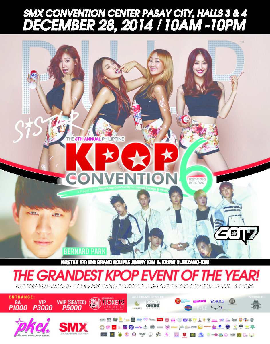 Get ready for K-POP Convention 6 in Manila