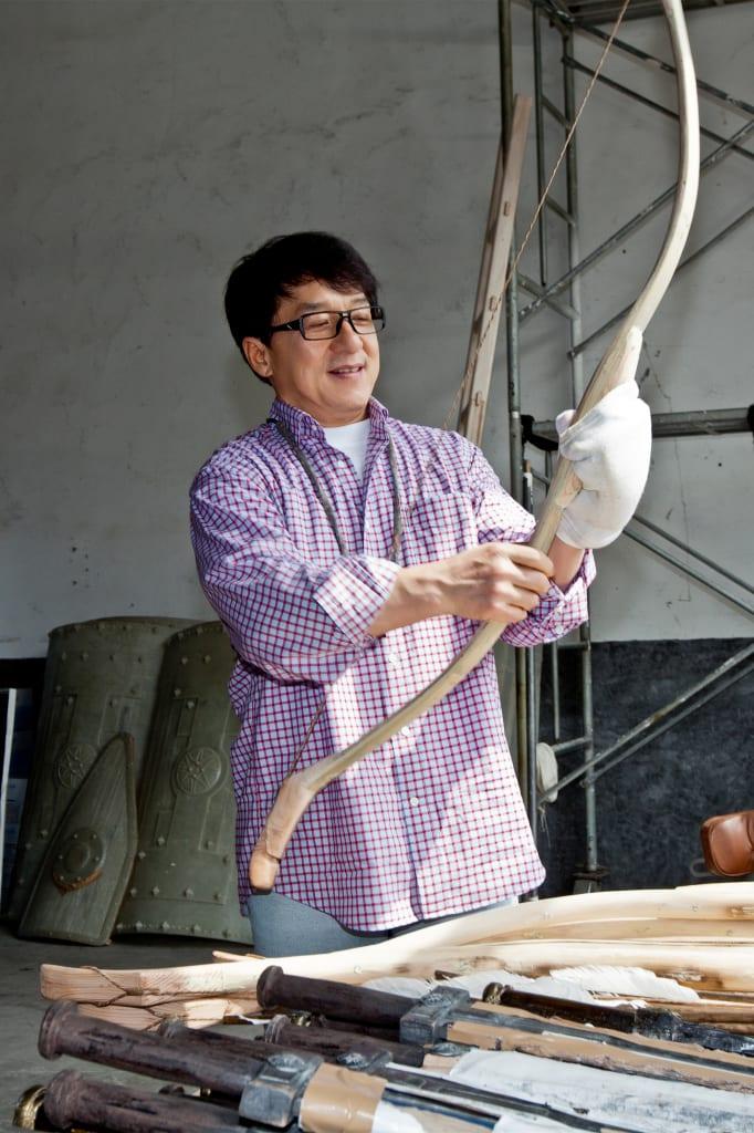 Jackie Chan inímDragon Bladeínsword warehouse