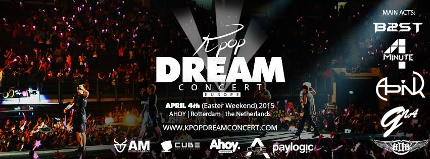 Kpop Dream Concert Netherlands