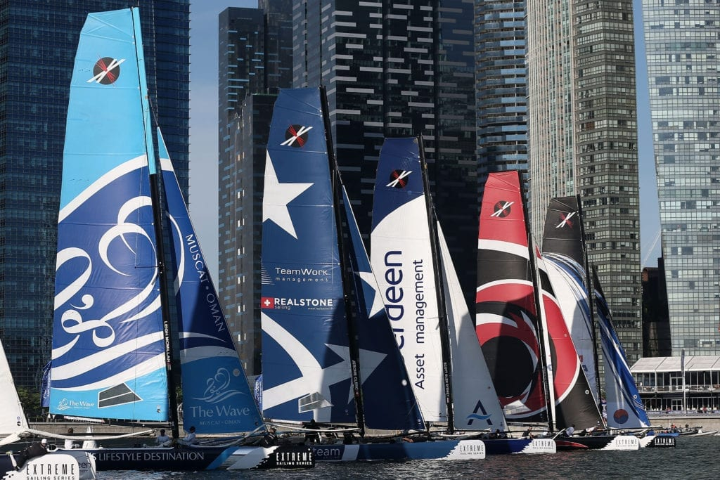 Extreme Sailing Series - Day 2