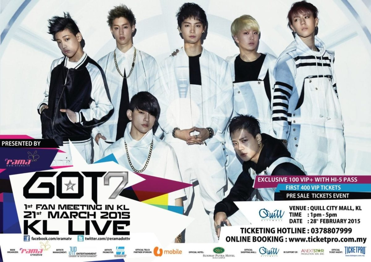 GOT7 1st Fan Meeting in Malaysia