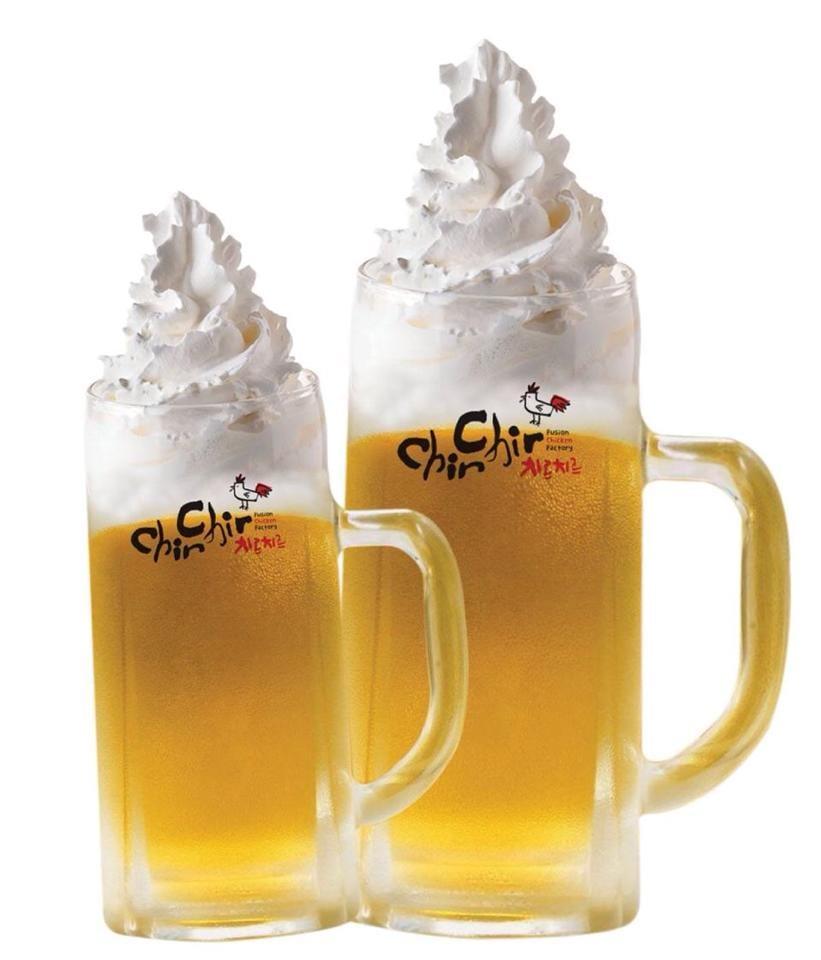 chir cream beer