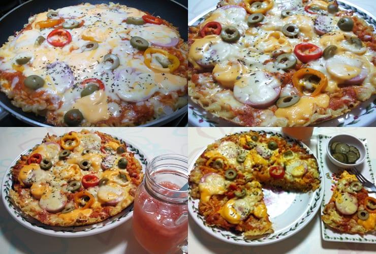ramyeon pizza