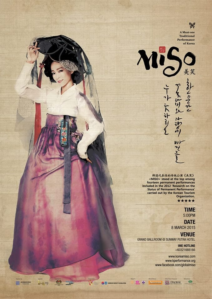 MISO Korean Traditional Culture Stage Show in Malaysia