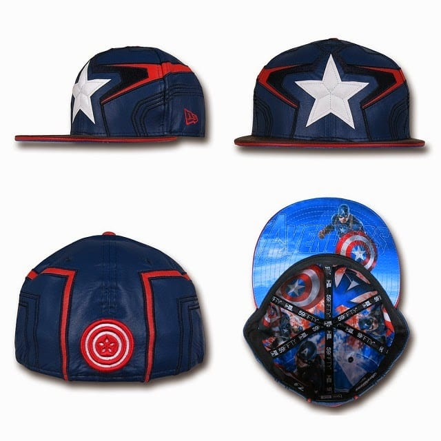 Marvel's Avengers Age of Ultron Armor 59Fifty Caps by New Era - Captain America