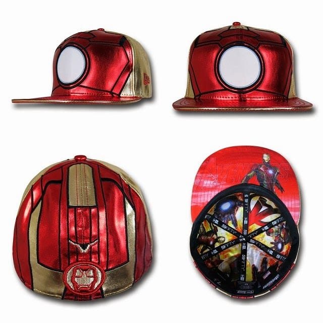 Marvel's Avengers Age of Ultron Armor 59Fifty Caps by New Era - Iron Man