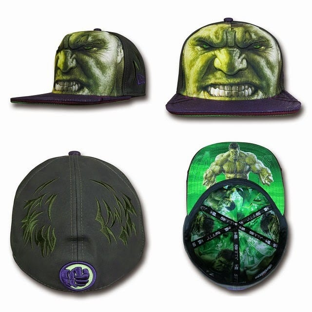 Marvel's Avengers Age of Ultron Armor 59Fifty Caps by New Era - The Incredible Hulk