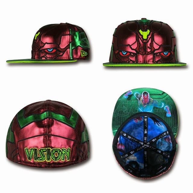 Marvel's Avengers Age of Ultron Armor 59Fifty Caps by New Era - The Vision