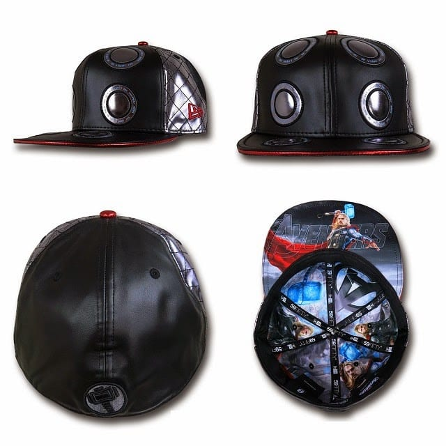 Marvel's Avengers Age of Ultron Armor 59Fifty Caps by New Era - Thor