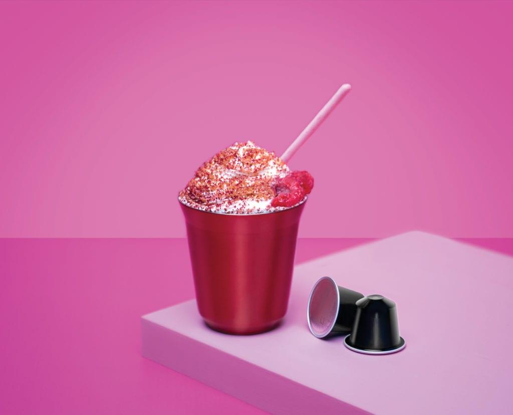 Hawthorne & Raspberry Milkshake