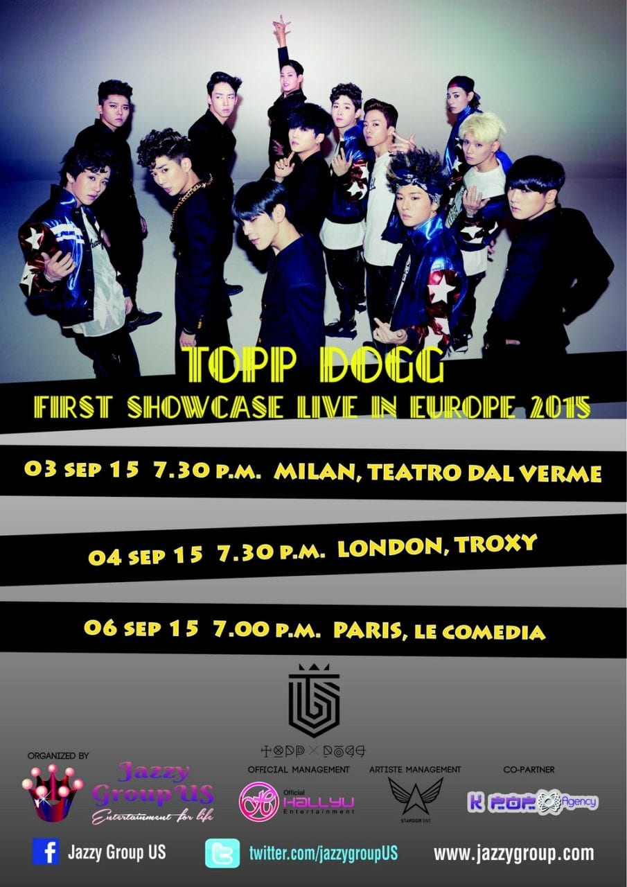 TOPP DOGG Europe Tour 2015