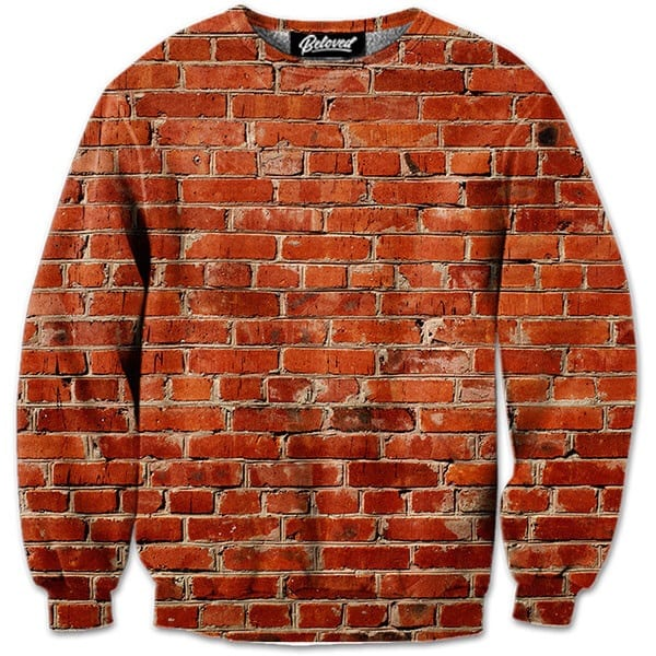 Brick Wall - Any wallflowers out there? Blend seamlessly into the background of any picture.