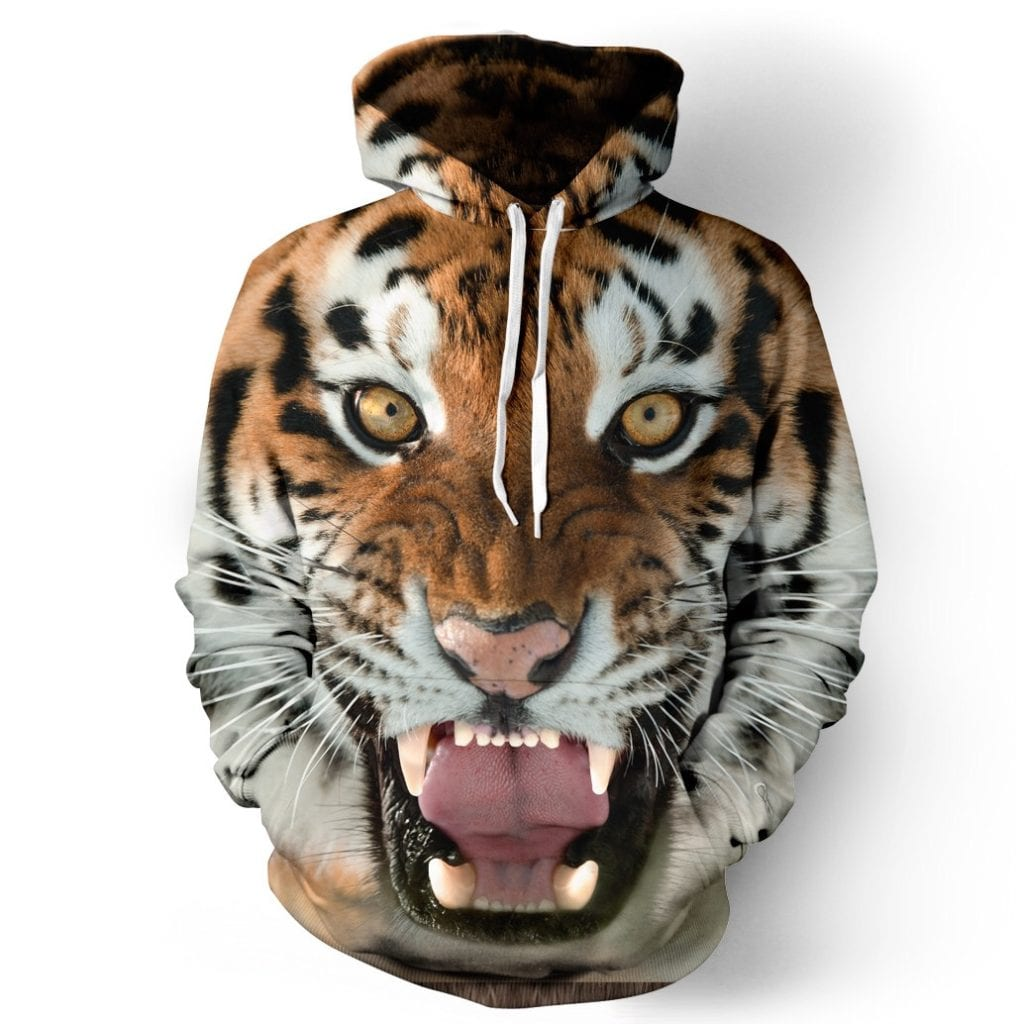Tiger - Even better, turn your body into a tiger head and scare everyone out of your path!