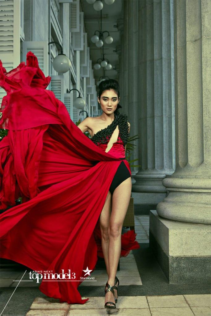 AsNTM3 - EP13 The Girl On Top Photoshoot (AsNTM 3 WINNER) - Gani (Indonesia)
