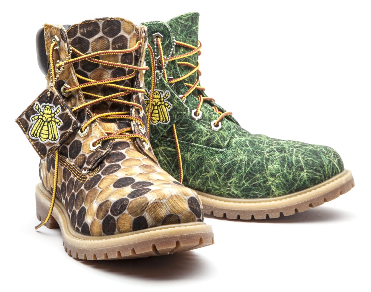Timberland Limited Edition Bee Line Women's Canvas Boots 5