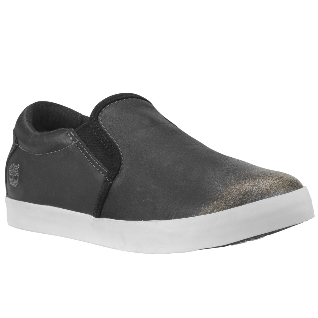 Glastenbury Leather Slip-On Black_$199.00