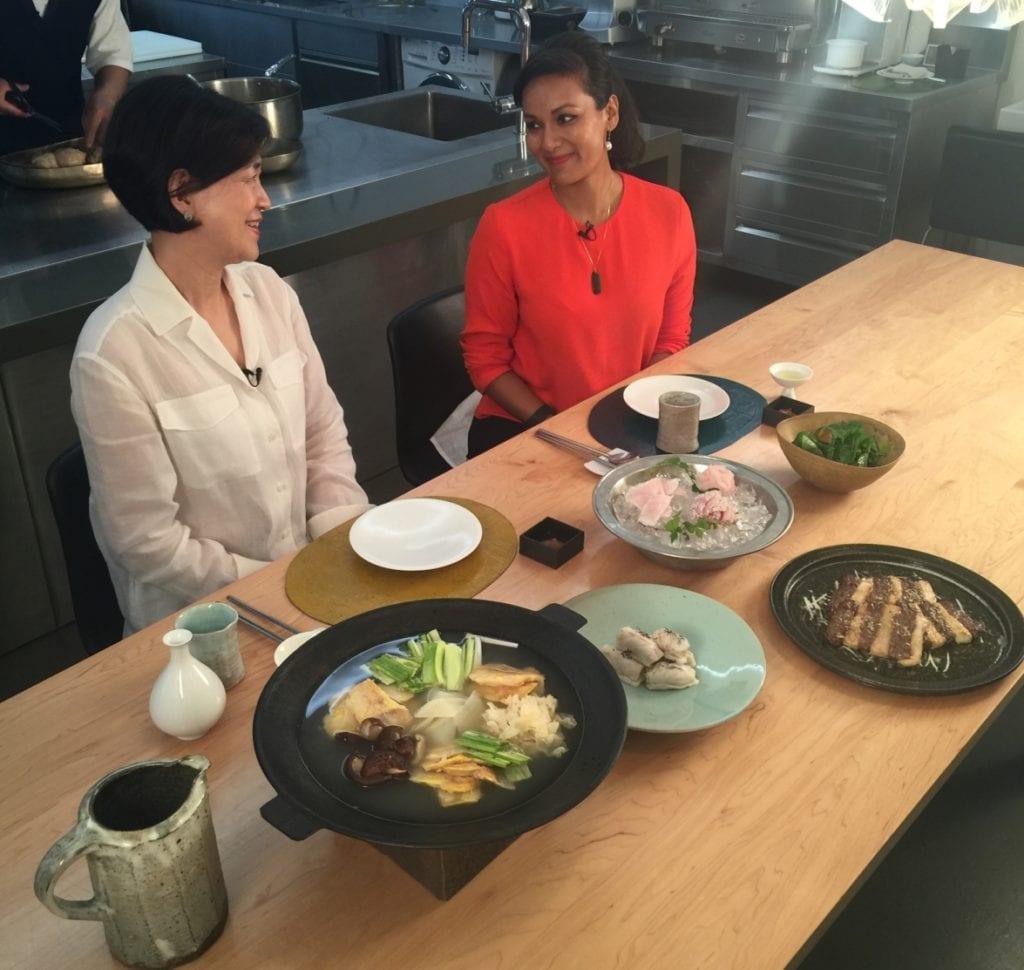 Talk Asia_CNN host Sumnima Udas and Arumjigi's chairwoman