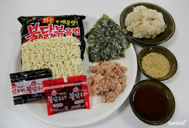 buldak rice rolls ingredients