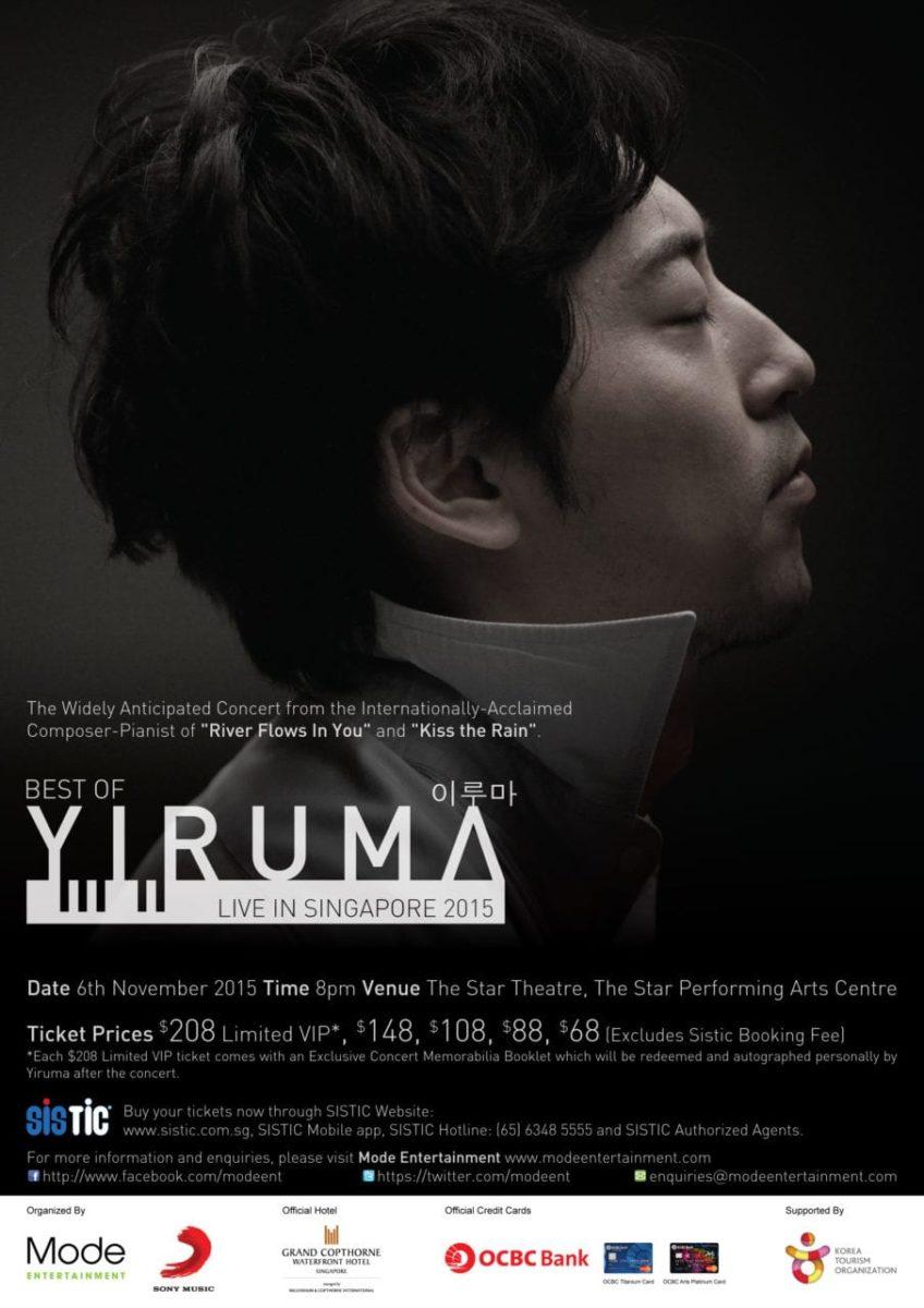 Best of Yiruma Live in Singapore 2015