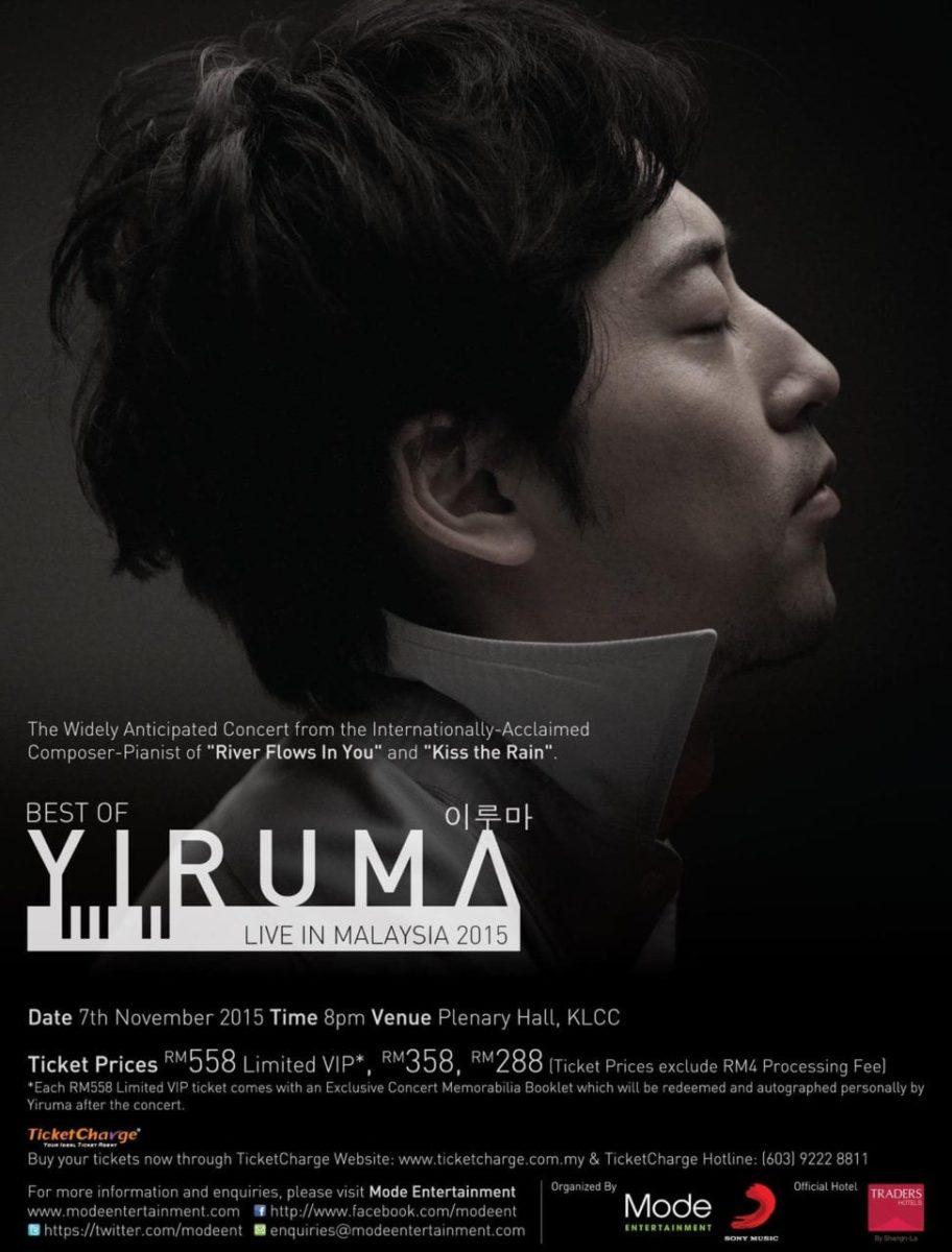 BEST OF YIRUMA LIVE IN MALAYSIA 2015
