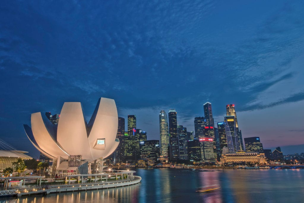 ArtScience Museum Panoramic (Photo credit - Marina Bay Sands)