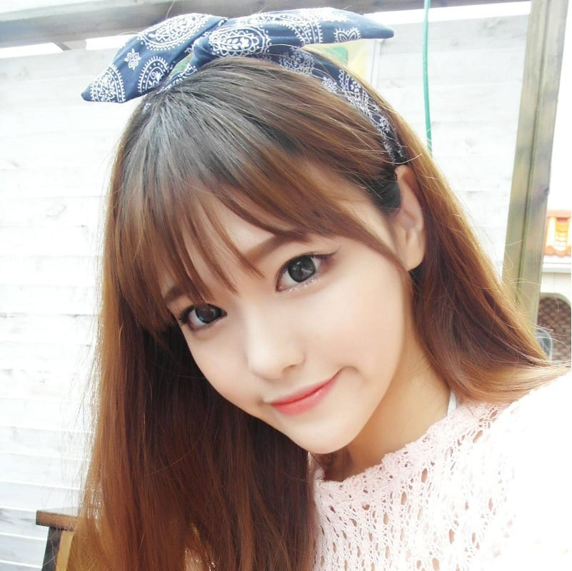 Beauty Korean Hairstyle Bangs For Ladies Kavenyou Com
