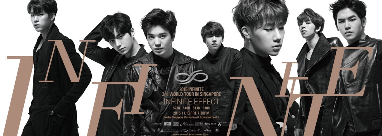 INFINITE Press Conference at City Square Mall Promotional Poster