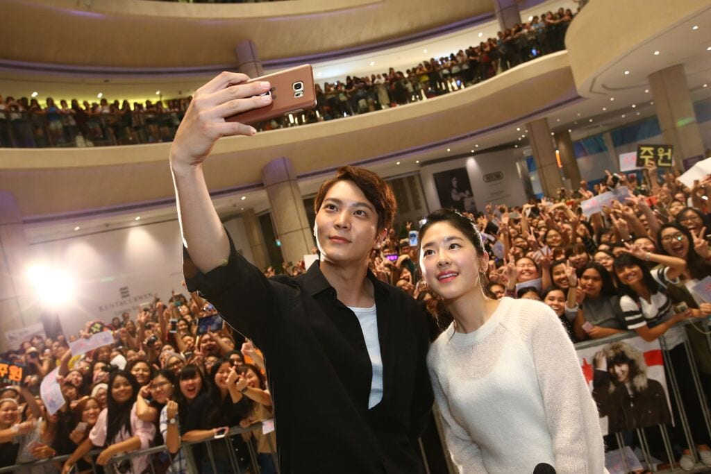 joowon parkhyesu selfie