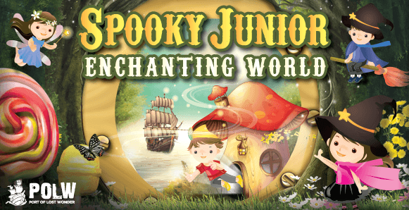 Celebrate Halloween with Spooky Junior at Sentosa