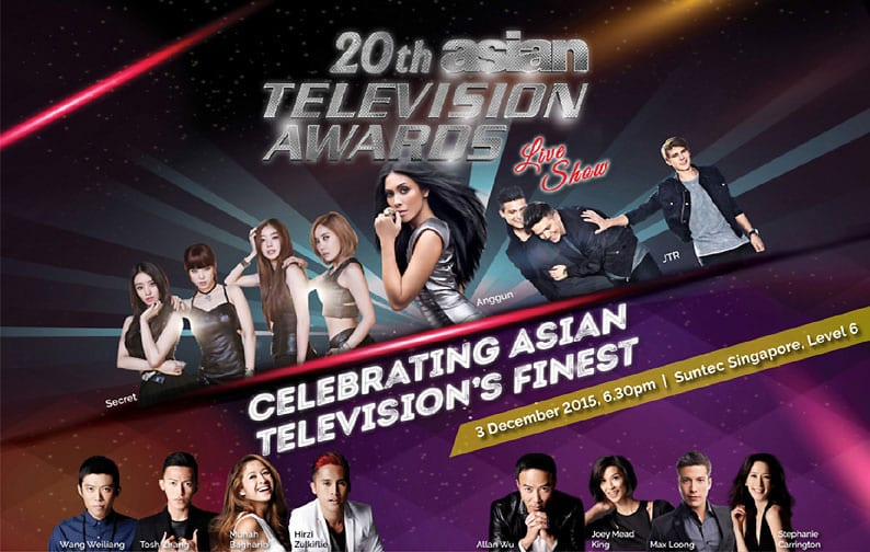 [EVENT + GIVEAWAY] 3 reasons why you should go for Asian TV Awards 2015