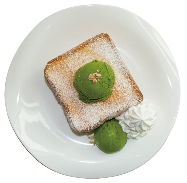 Matcha Green Tea Toast. Image credits: O'ma Spoon Official Website
