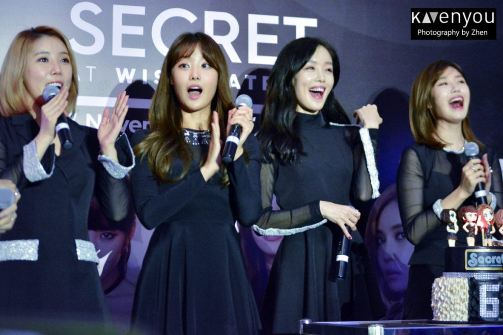 SECRET celebrates 6th anniversary at Style: Meets SECRET