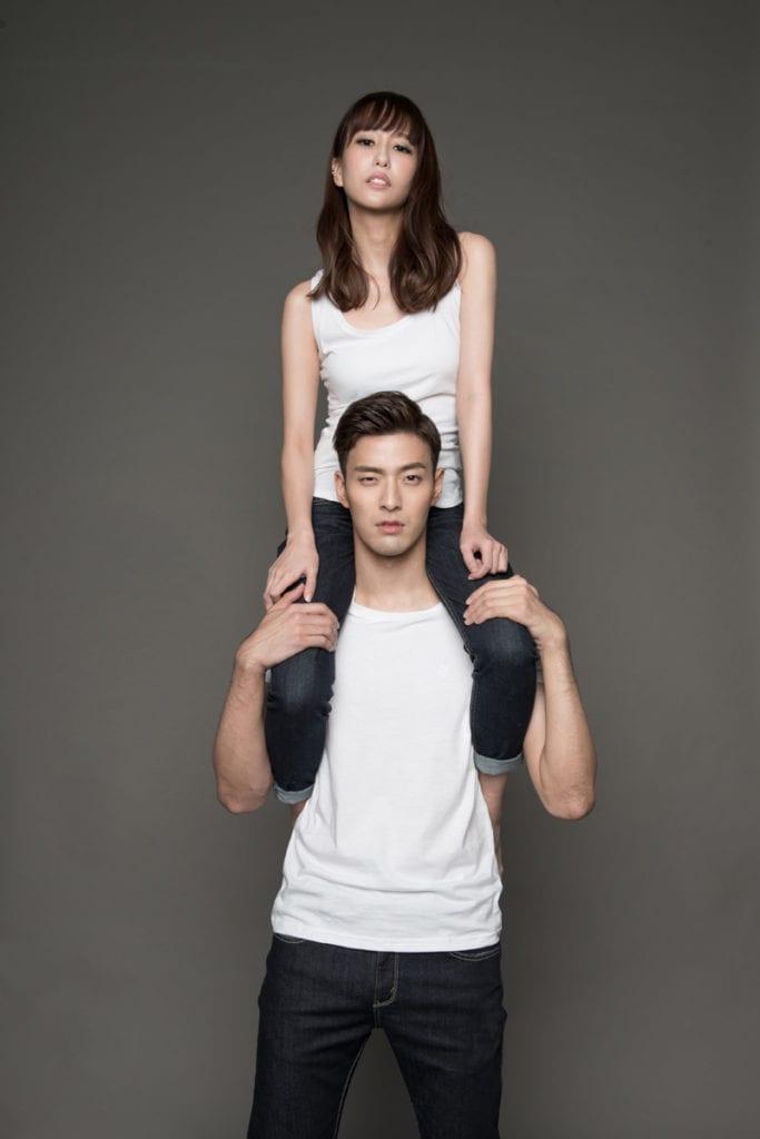 Royal Pirates' James Lee chosen as Ambassador of Jeans brand dENiZEN with Singapore star Kelly Poon