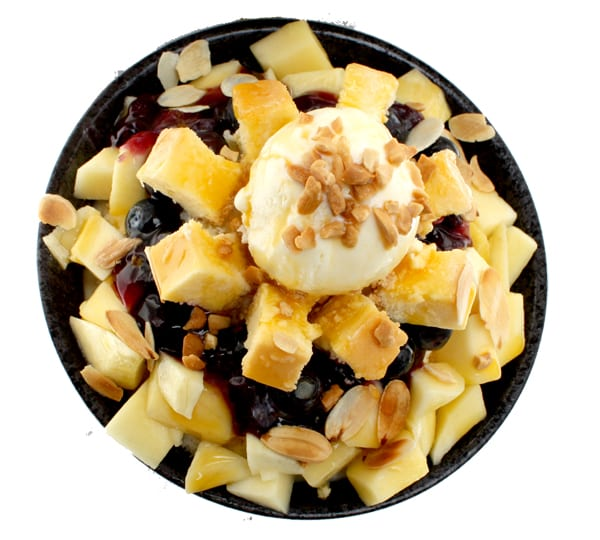 Mango Cheesecake Bingsoo. Image credits: O'ma Spoon Official Website