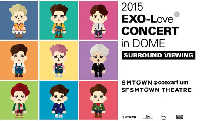 EXO- Love Concert in DOME (1)
