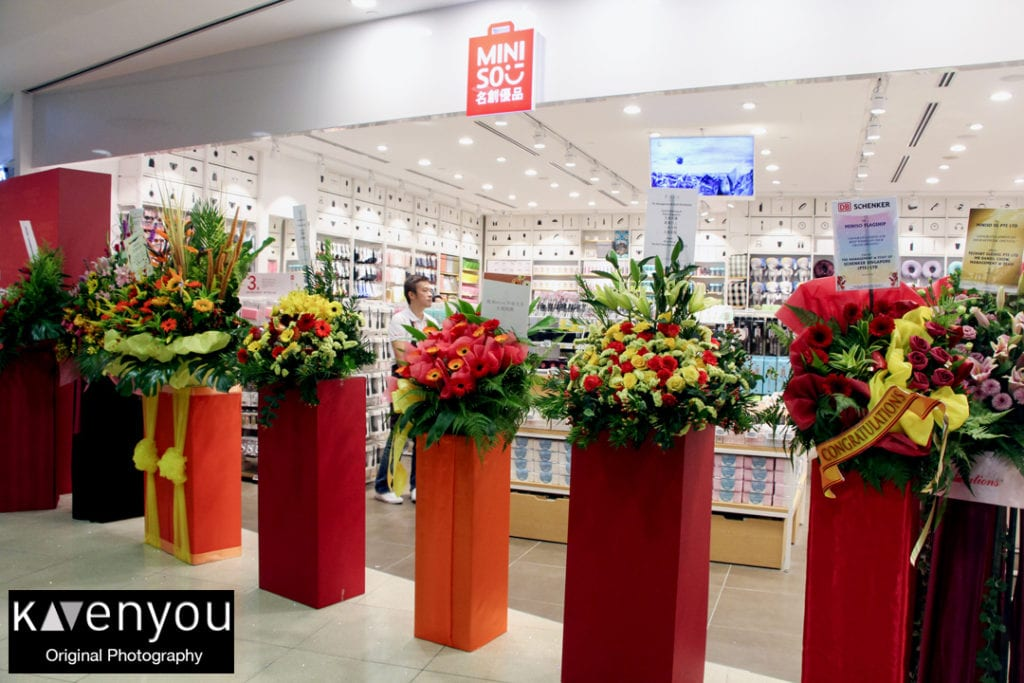 MINISO officially opens its doors in Singapore