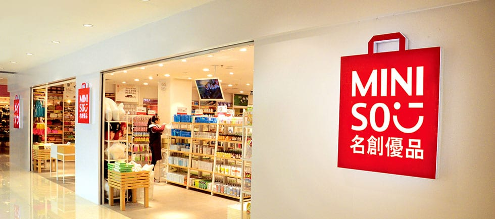 Miniso Store Front 1